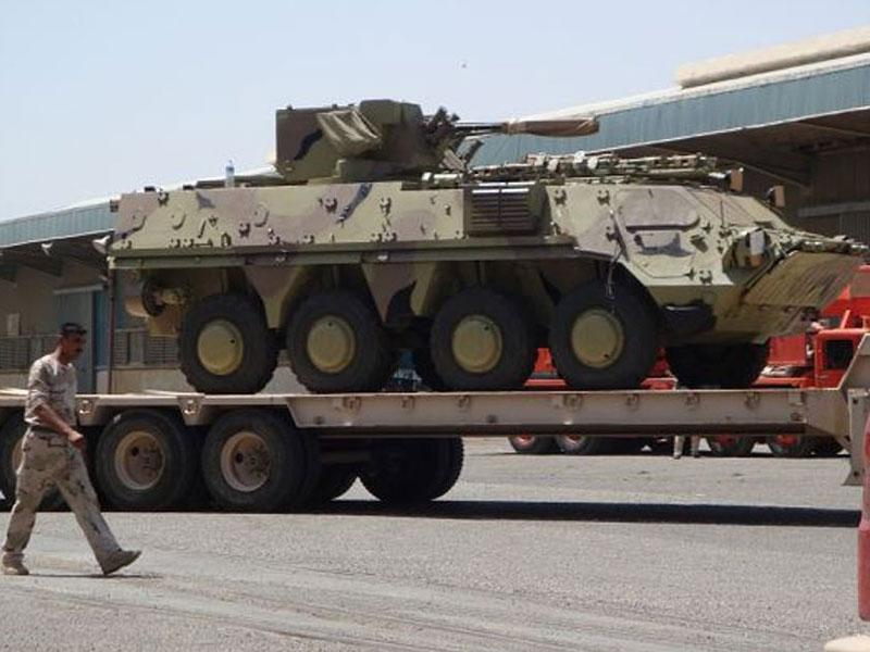 Iraq Accuses Ukraine of Delivering Low-Quality APCs