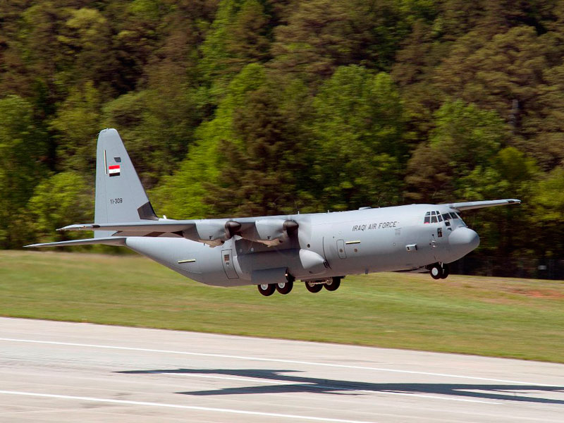 Iraqi Air Force to Receive Final 3 C-130J Airlifters