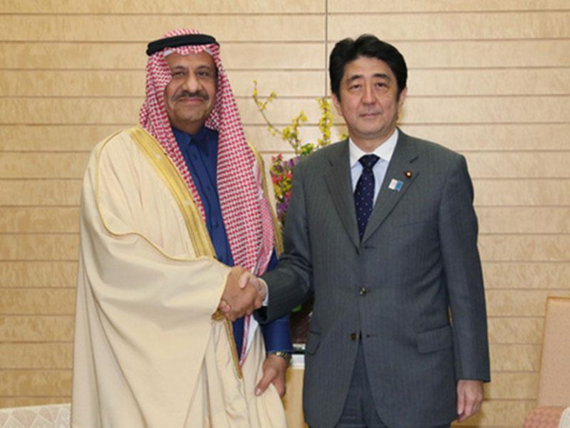 Japan's Prince Receives Saudi Deputy Defense Minister