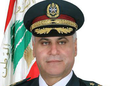 Lebanese Army Commander Warns of Sectarian Tension