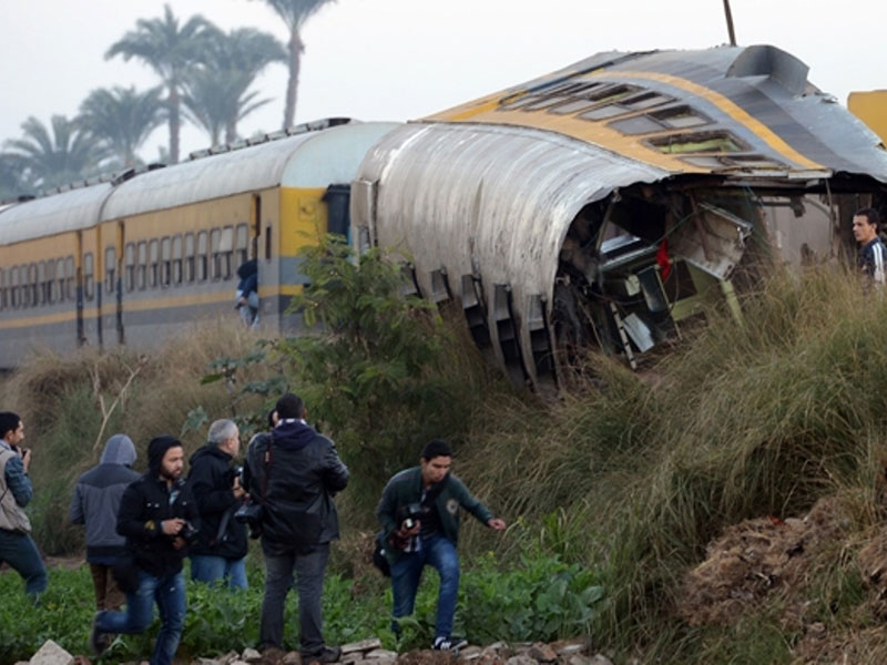 Military Train Crash in Egypt Kills 19 Conscripted Youth