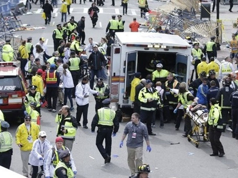 "Obama Vows ""Full Justice"" in Boston Bombing"