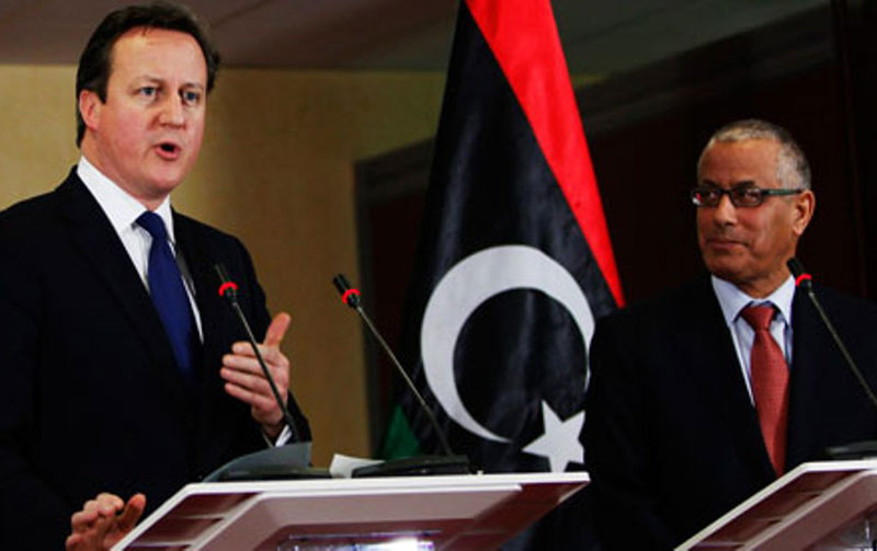 UK Offers to Train Libyan Security Forces