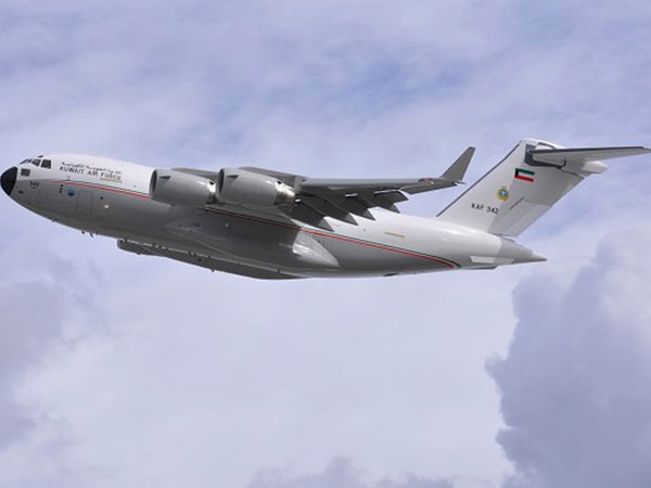 Boeing Delivers Kuwait Air Force's 1st C-17 Globemaster III