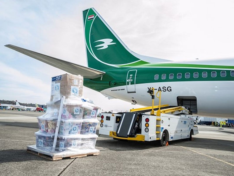 Boeing, Iraqi Airways to Bring Smiles to Orphans in Iraq