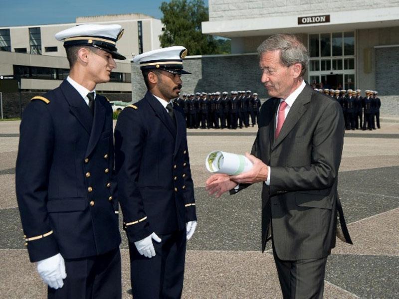 DCI Rewards a New Batch of Kuwaiti & Libyan Cadets