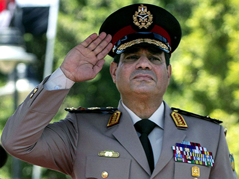 Egypt's Defense Minister Vows to Fight Terrorism