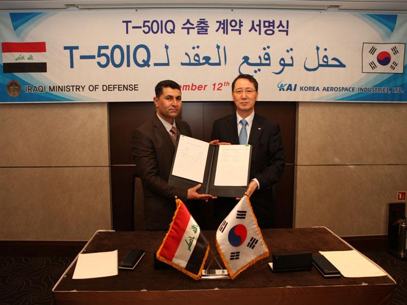 Korea Aerospace Industries Wins $1.1bn Iraq Jet Order