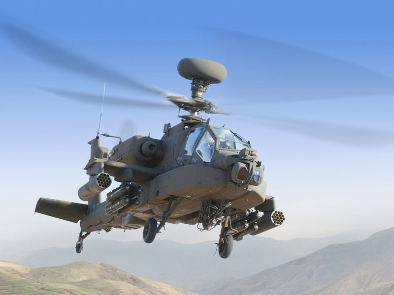 Lockheed Martin Wins Saudi Apache Support Contract
