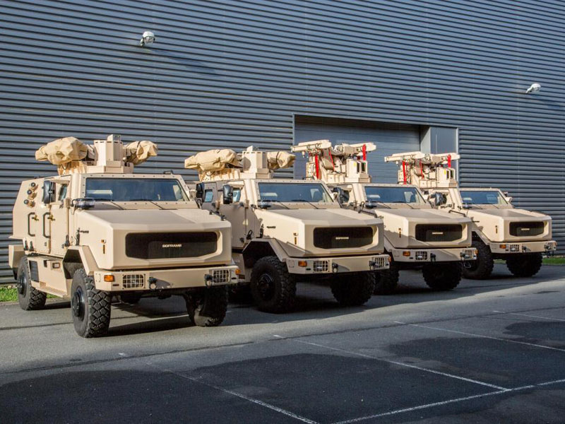 MBDA Delivers First MPCVs in Surface-to-Air Configuration