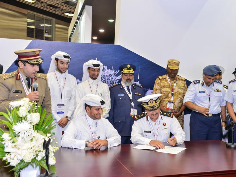 Nakilat Damen Shipyards to Build 7 Vessels for Qatar's Army