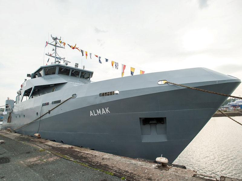 PIRIOU Launches ALMAK Maritime Training Vessel