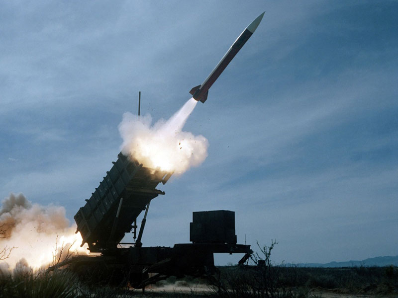 Raytheon's Patriot Launches PAC-3 Missile