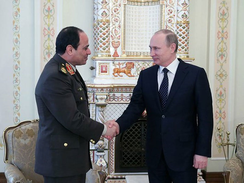 Report: Russia, Egypt Reach Initial $3 Billion Arms Deal