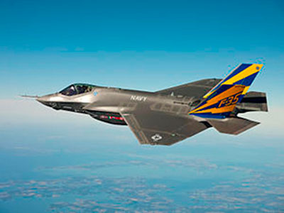 Rolls-Royce Wins LiftSystems™ Order for F-35B Lightning II