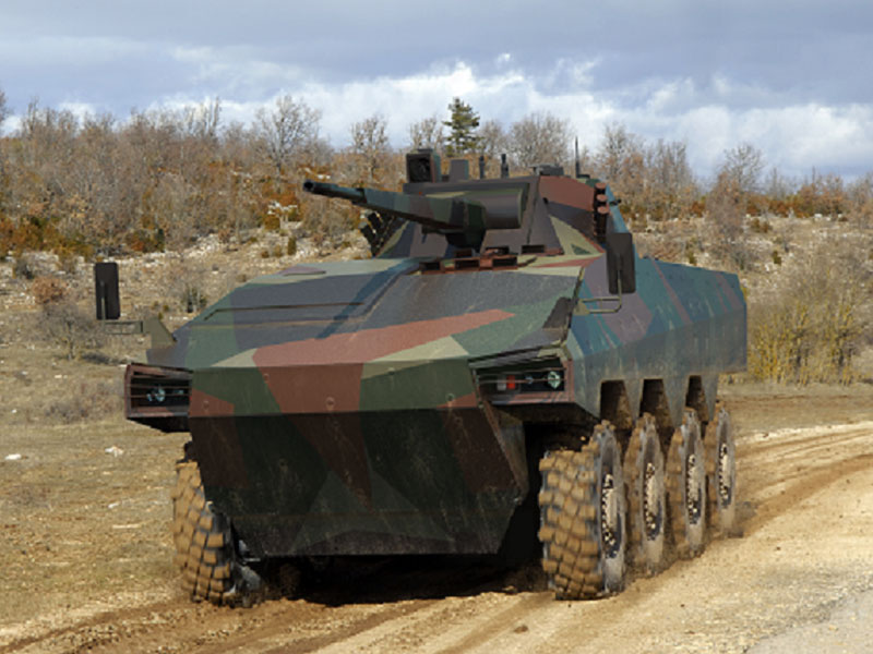 Russia & France to Develop Infantry Fighting Vehicle
