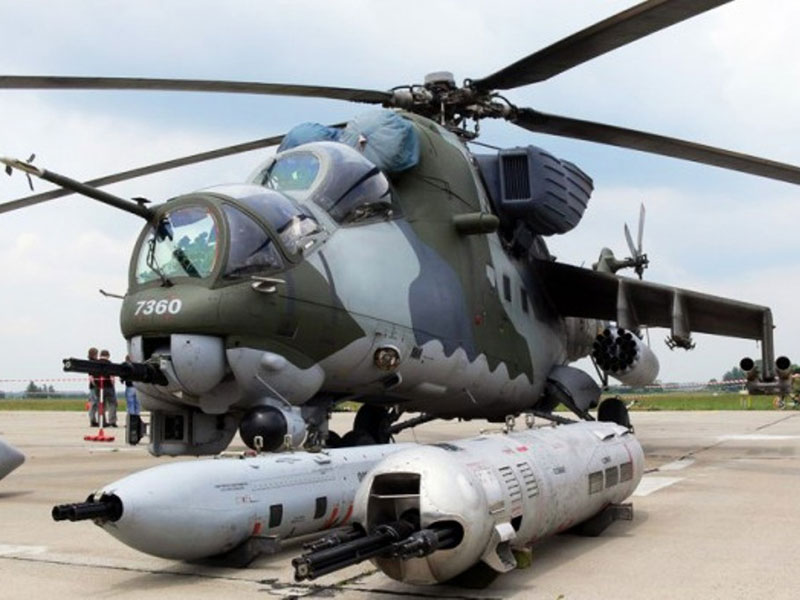 Russia May Deliver 6 More Mi-35s to Iraq