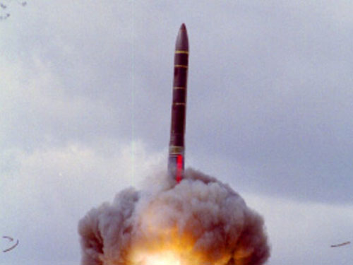 Russia Test Fires New Yars Ballistic Missile
