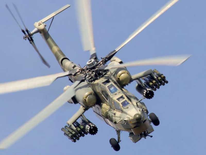 Russia to Deliver 10 Helicopter Gunships to Iraq