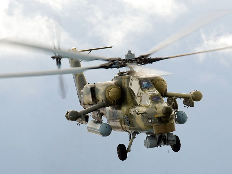 Russia to Develop 5th Generation Attack Helicopter by 2017