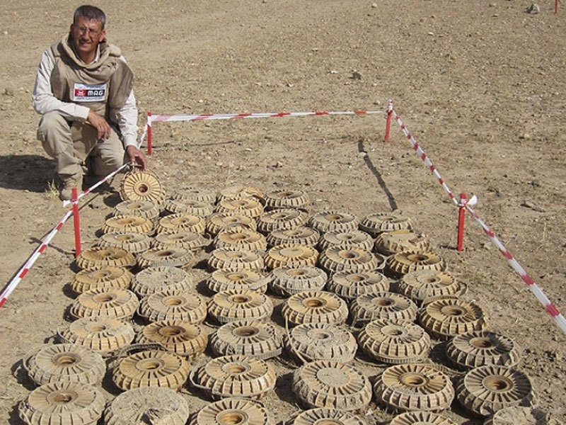 Sterling Operations Trains Iraqis, Afghanis Against Mines