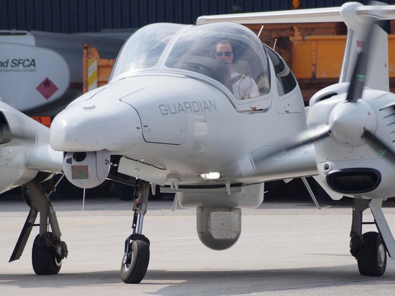 Test Flights of Diamond DA42 with Thales I-Master