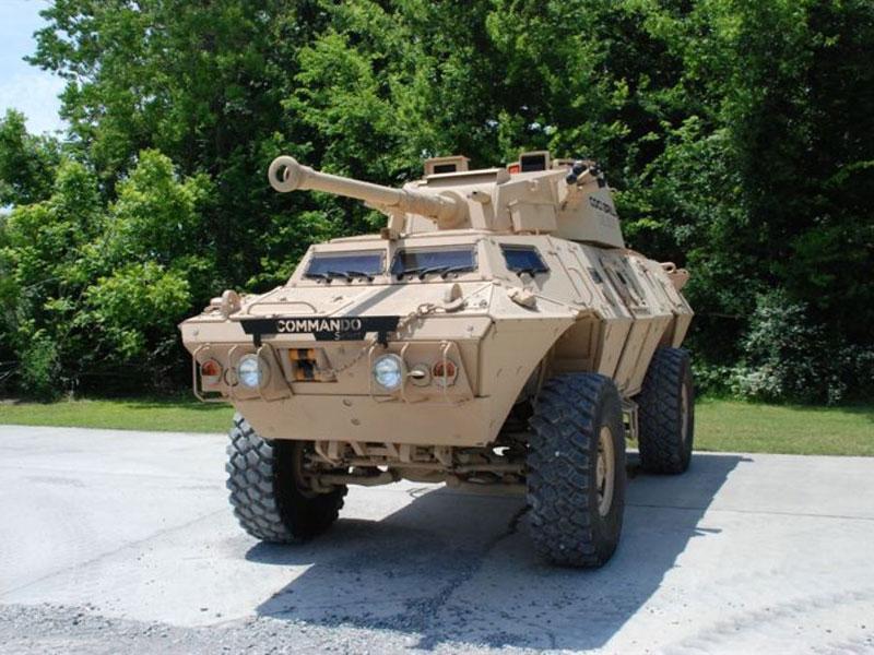 Textron M&LS Unveils New COMMANDO™ Armored Vehicle