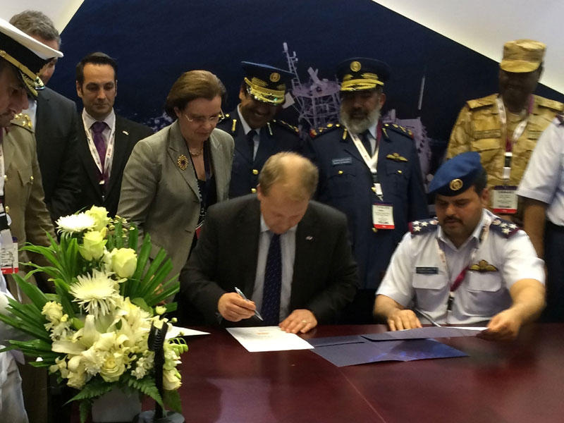 Thales, Qatar Armed Forces to Develop OPV-Aircraft