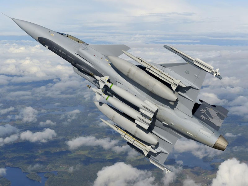 The Brazilian Government Selects Saab's Gripen