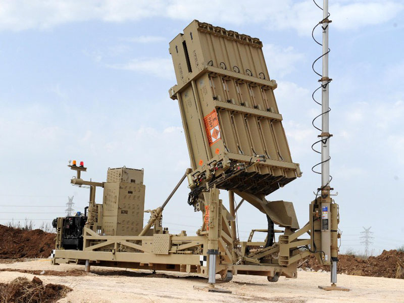 U.S., Israel Sign Agreement on Iron Dome Weapon System