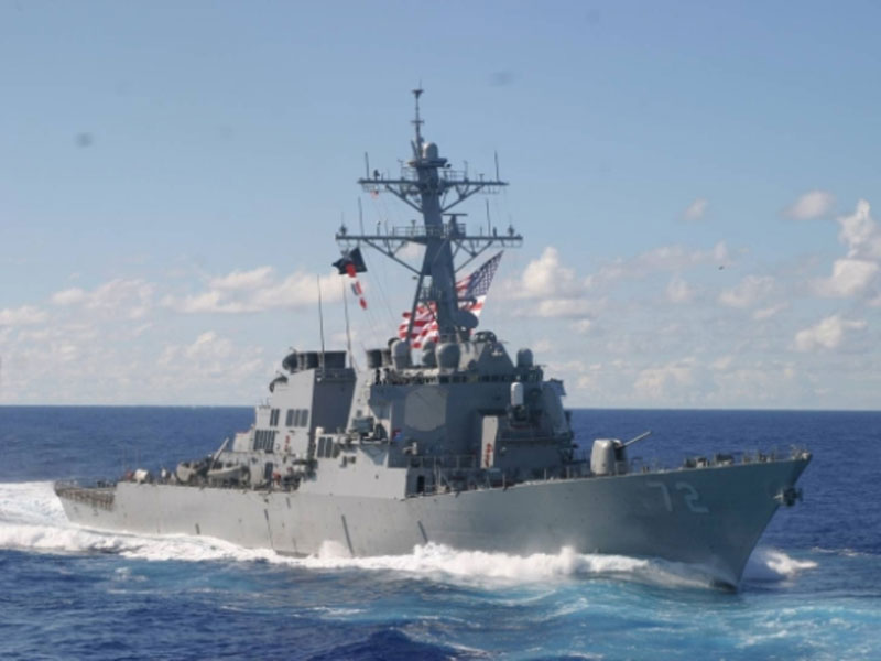 US Repositions Naval Forces in Mediterranean