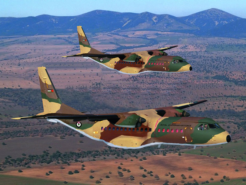 ATK Delivers First Modified CASA-235 Aircraft to Jordan