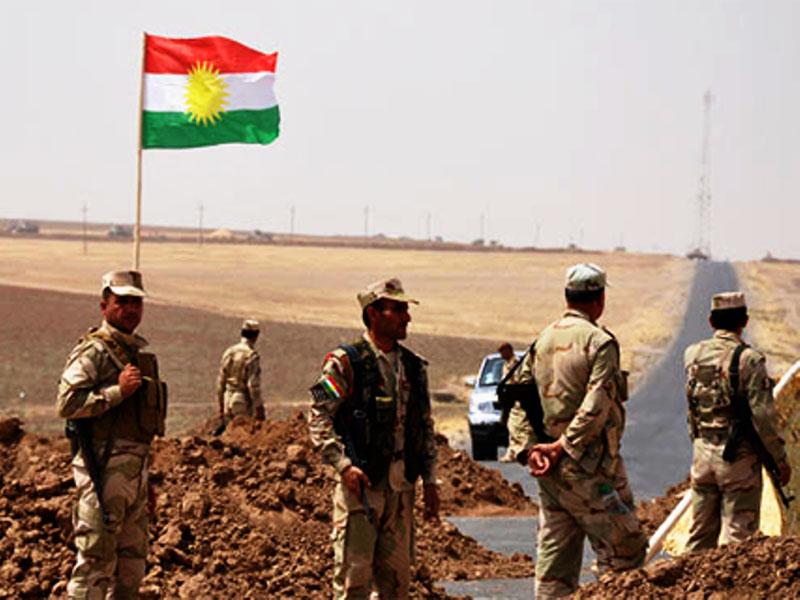 British Soldiers Training Peshmerga Forces in Iraq