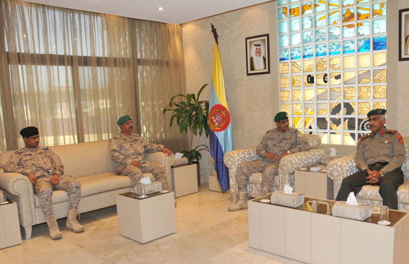 Commander of GCC Peninsula Shield Force Visits Kuwait