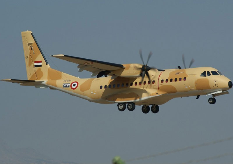Egypt Orders 8 New Airbus C295 Tactical Transports