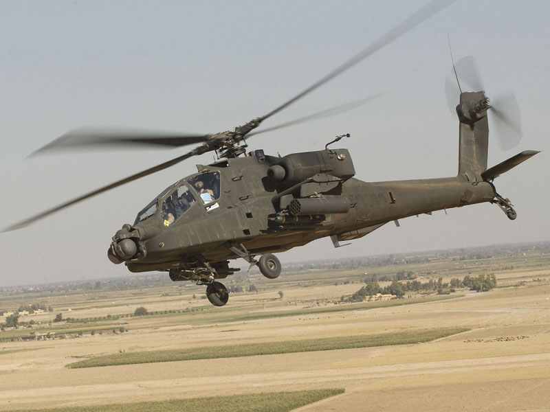 Egypt Receives 10 Apache Attack Helicopters