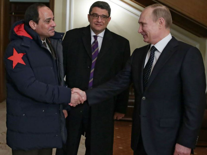 Egyptian, Russian Presidents to Meet in Moscow