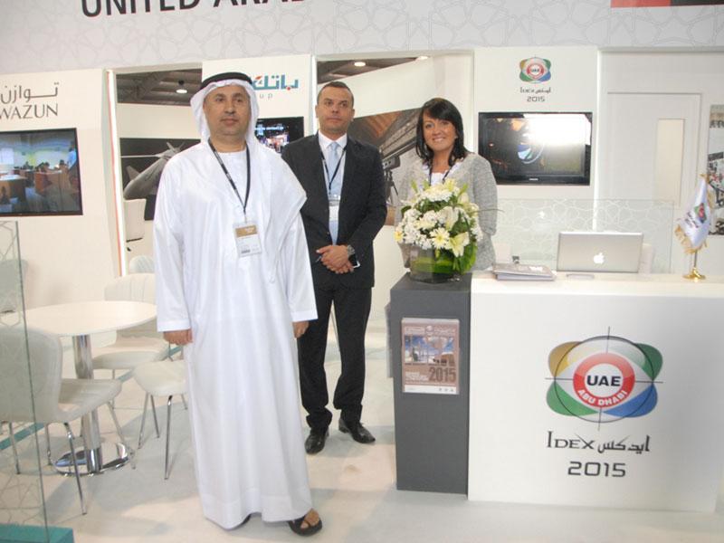 IDEX Leads UAE Participation at SOFEX Jordan