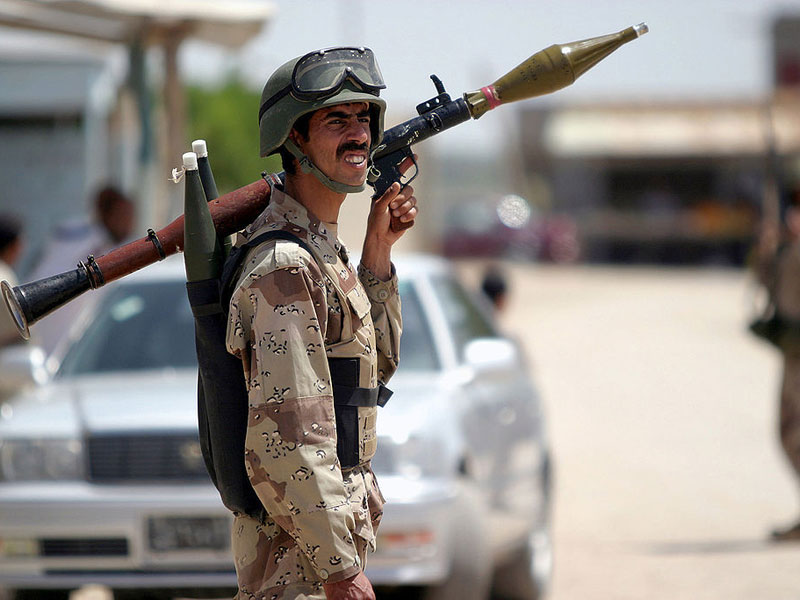 Iran Unveils Laser Simulator for RPG-7 Grenades, Launchers