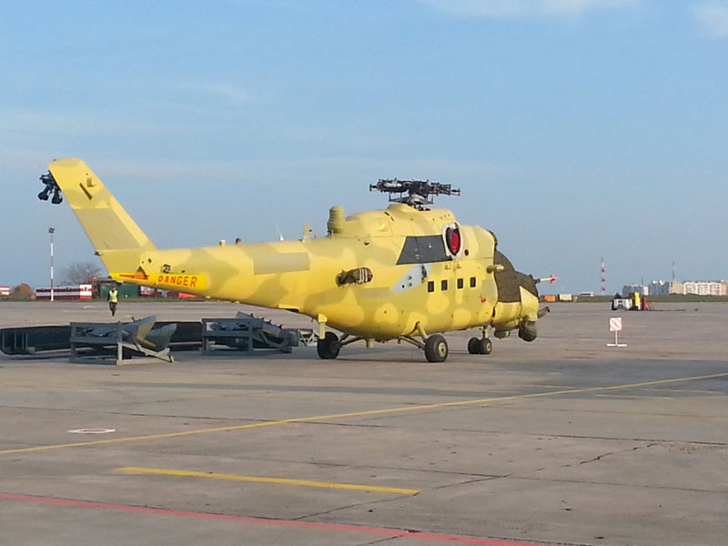 Iraq Receives 3rd Batch of Russian Mi-35 Helicopters