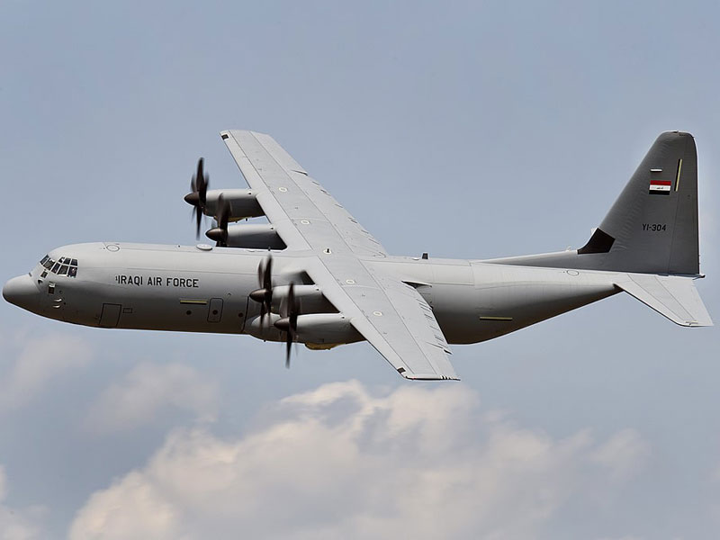 Iraq Requests 5-Year Sustainment Package for C-130E/J Fleet
