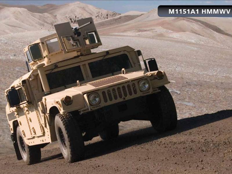 Iraq Requests M1151A1 Vehicles & Associated Equipment