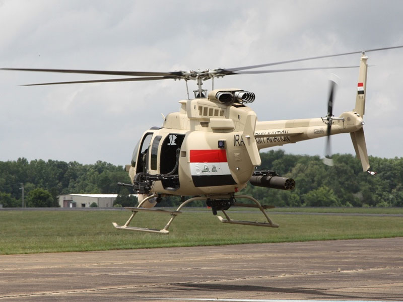 Iraq Seeks Helicopter Sustainment Support