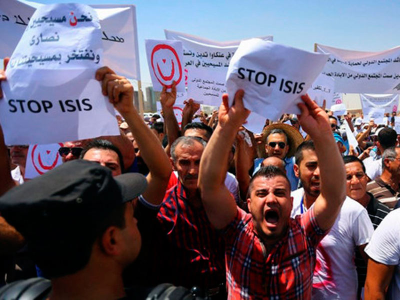 ISIS Seizes Iraq's Largest Christian Town