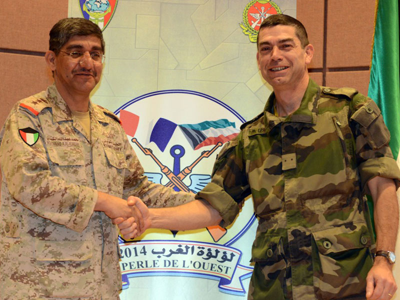 "Kuwait, France Praise ""Pearl of the West"" Joint Drill"