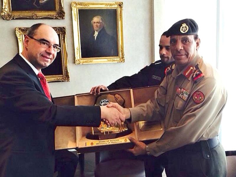 Kuwaiti Military Delegation Visits Switzerland