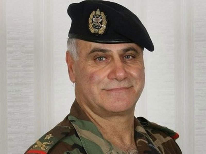 Lebanon Army Chief Urges France to Speed Up Arms Delivery