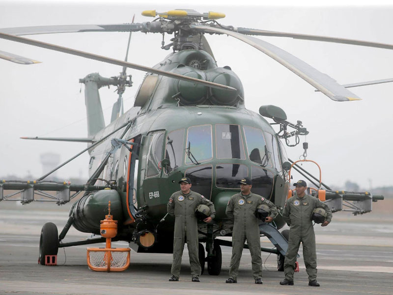 New Mi-171Sh Helicopters Praised by Peru's Leadership