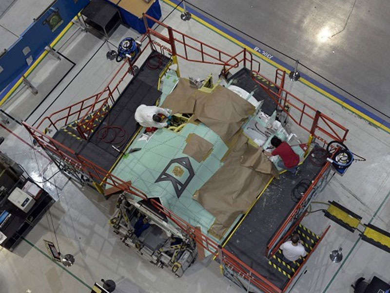NGC Delivers 150th Center Fuselage for F-35 Lightning II