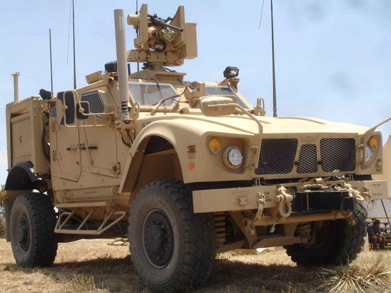 Oshkosh Defense's New M-ATV Variants at SOFEX 2014